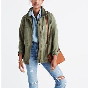 madewell • fleet jacket